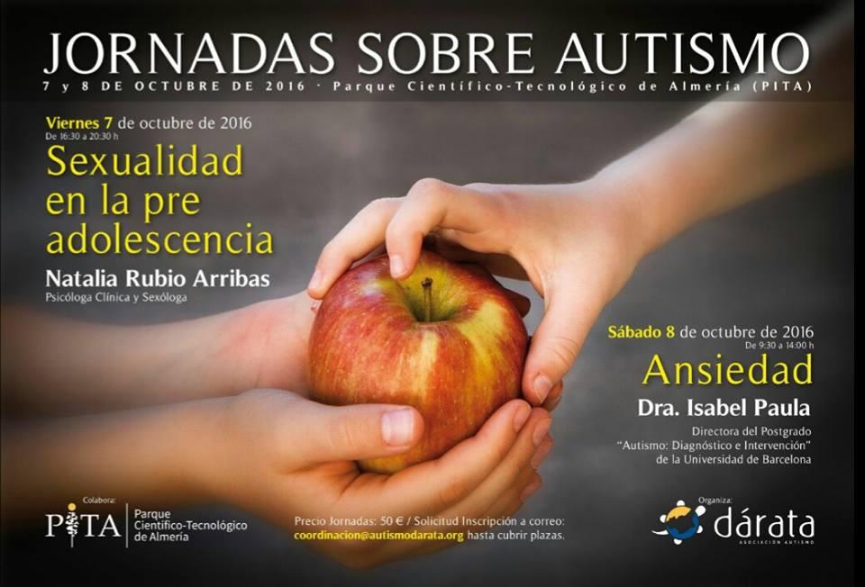 """Jornadas sobre Autismo """"Sexualidad y Ansiedad"""""""