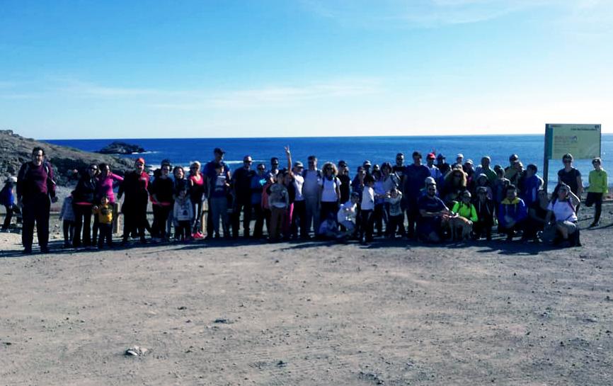 Ruta senderismo Parque Natural Cabo de Gata