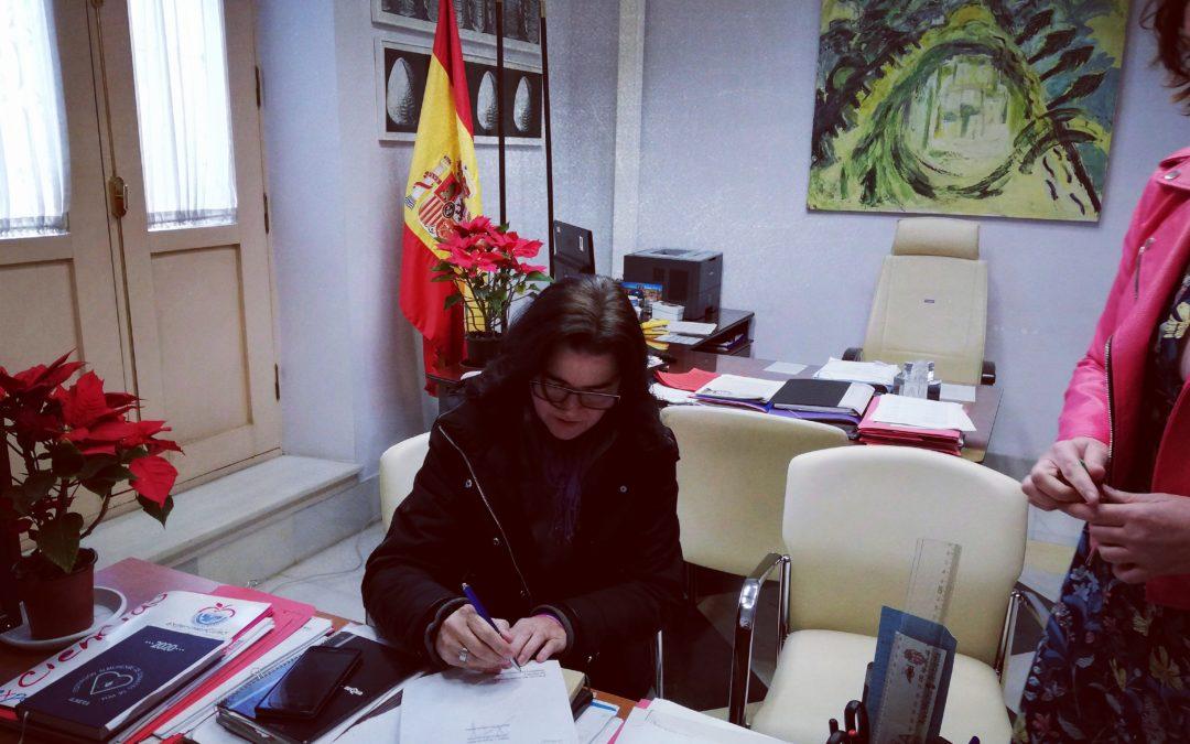 Cesión Espacio del Ayuntamiento de Almería a Dárata