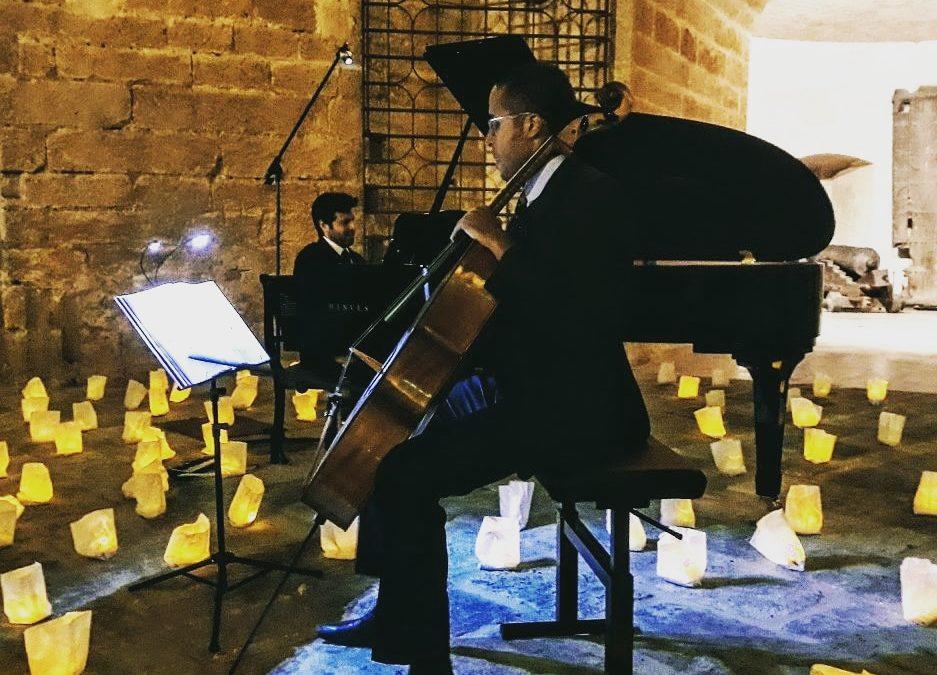 Solidaridad y Música: 1 Piano y 200 velas