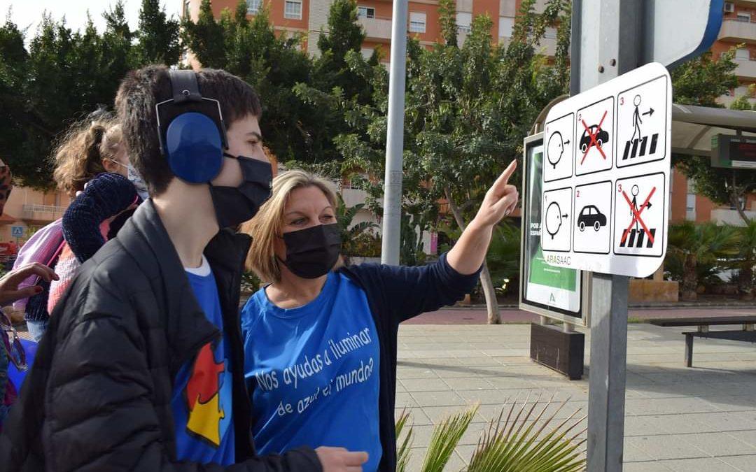 Accesibilidad Cognitiva:  Señalización Pasos Peatones en el Municipio de Vícar